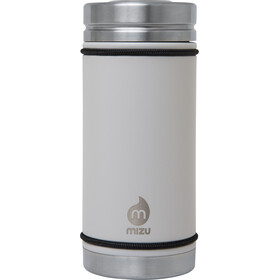 MIZU V5 Isolierte Flasche with V-Lid 500ml enduro light grey